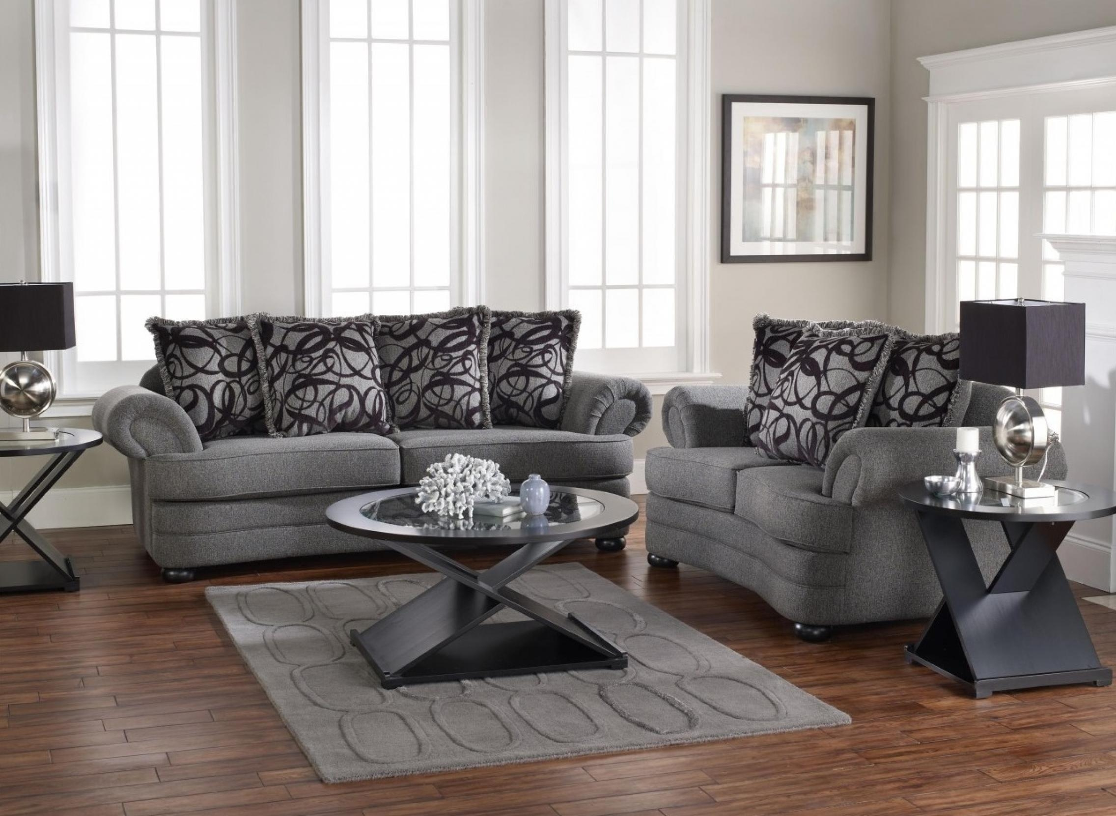 Best Grey Living Room Chairs Contemporary – Home Design Ideas With Grey Sofa Chairs (Image 2 of 20)