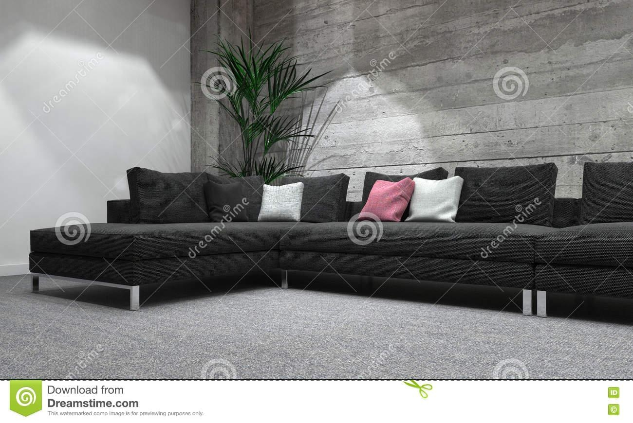Best Long Modern Sofa Modern Rooms Colorful Design Luxury In Long Within Long Modern Sofas (Image 3 of 20)