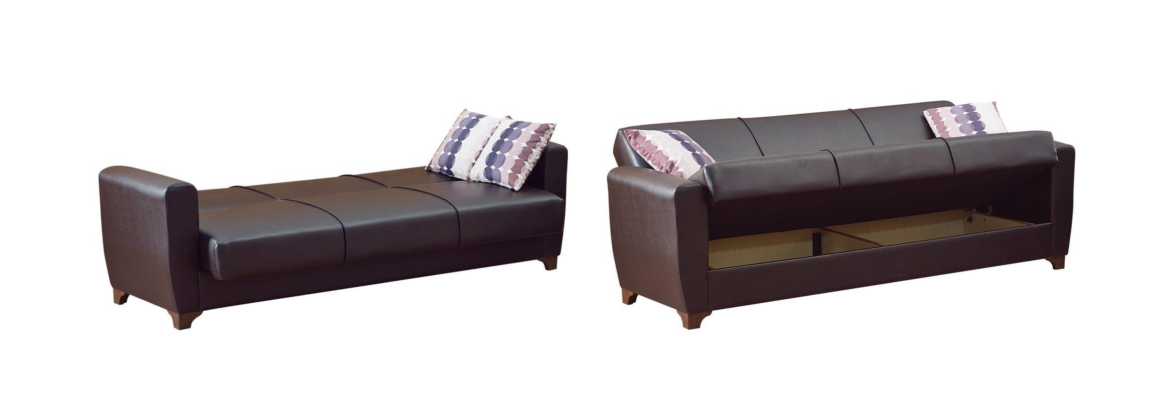 Beyan Queens Sleeper Sofa & Reviews | Wayfair For Convertible Queen Sofas (Image 4 of 20)