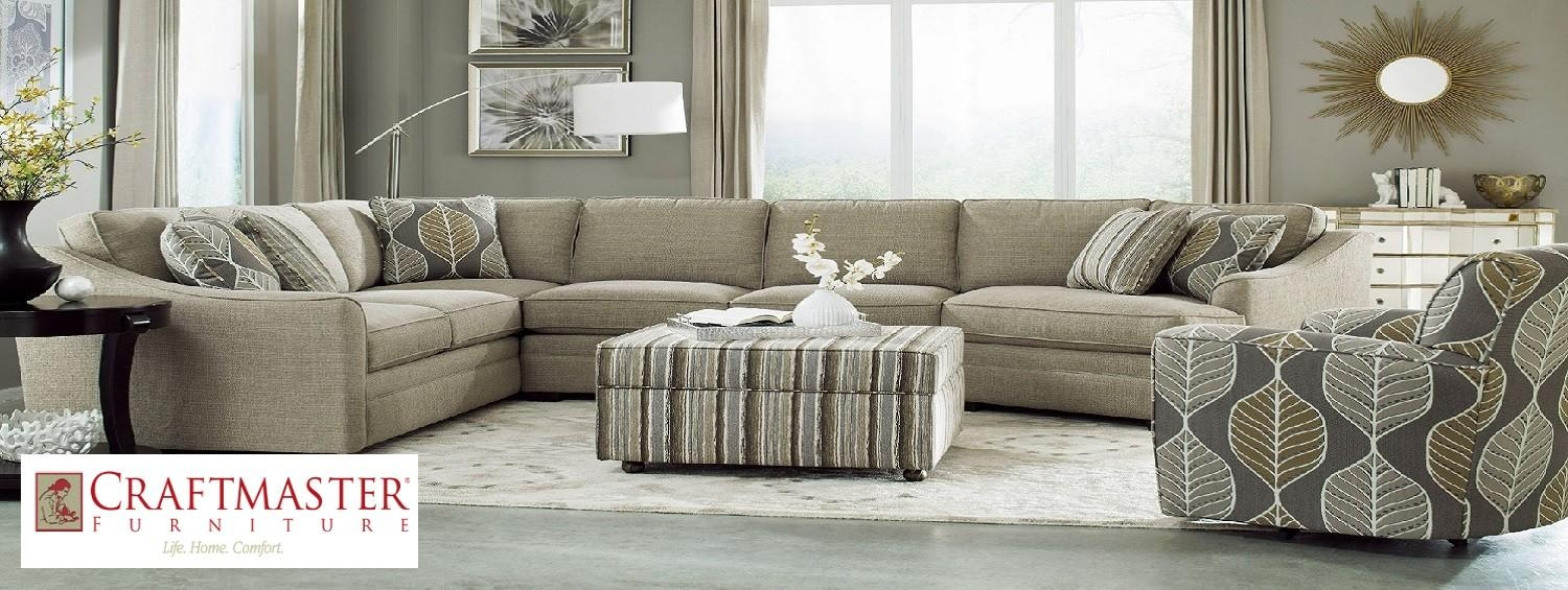 Bf Myers Furniture Store – Nashville, Franklin Goodlettsville With Regard To Craftmaster Sectional (Image 3 of 15)