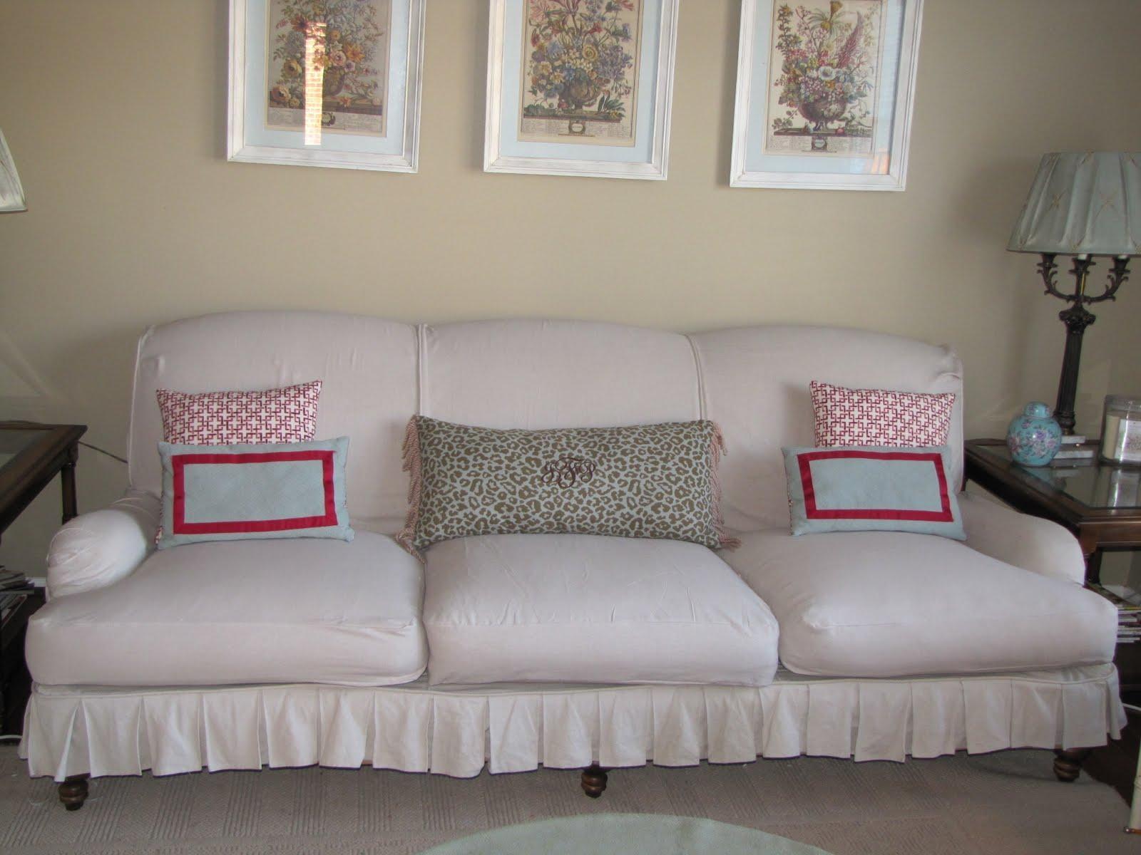 Bibbidi Bobbidi Beautiful: How To Slipcover Sofas And Chairs In Slipcovers For Sofas And Chairs (Image 1 of 20)