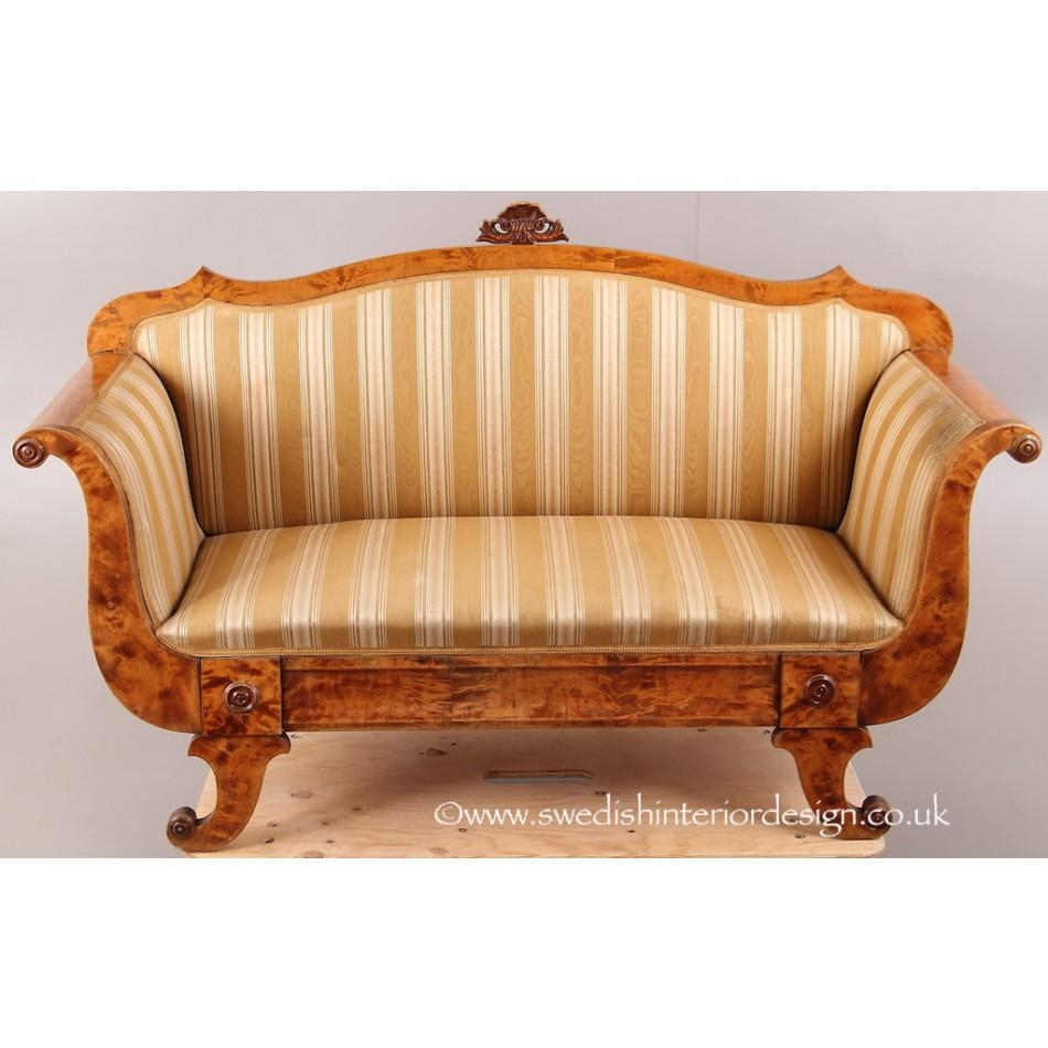 Biedermeier Sofa With Design Photo 10280 | Kengire Regarding Biedermeier Sofas (Image 12 of 20)