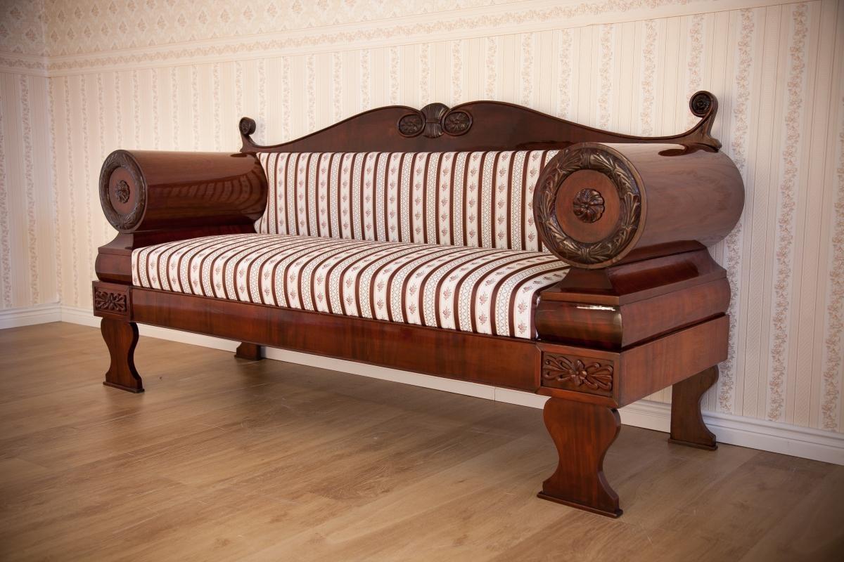 Biedermeier Sofa With Ideas Image 10277 | Kengire Inside Biedermeier Sofas (View 6 of 20)