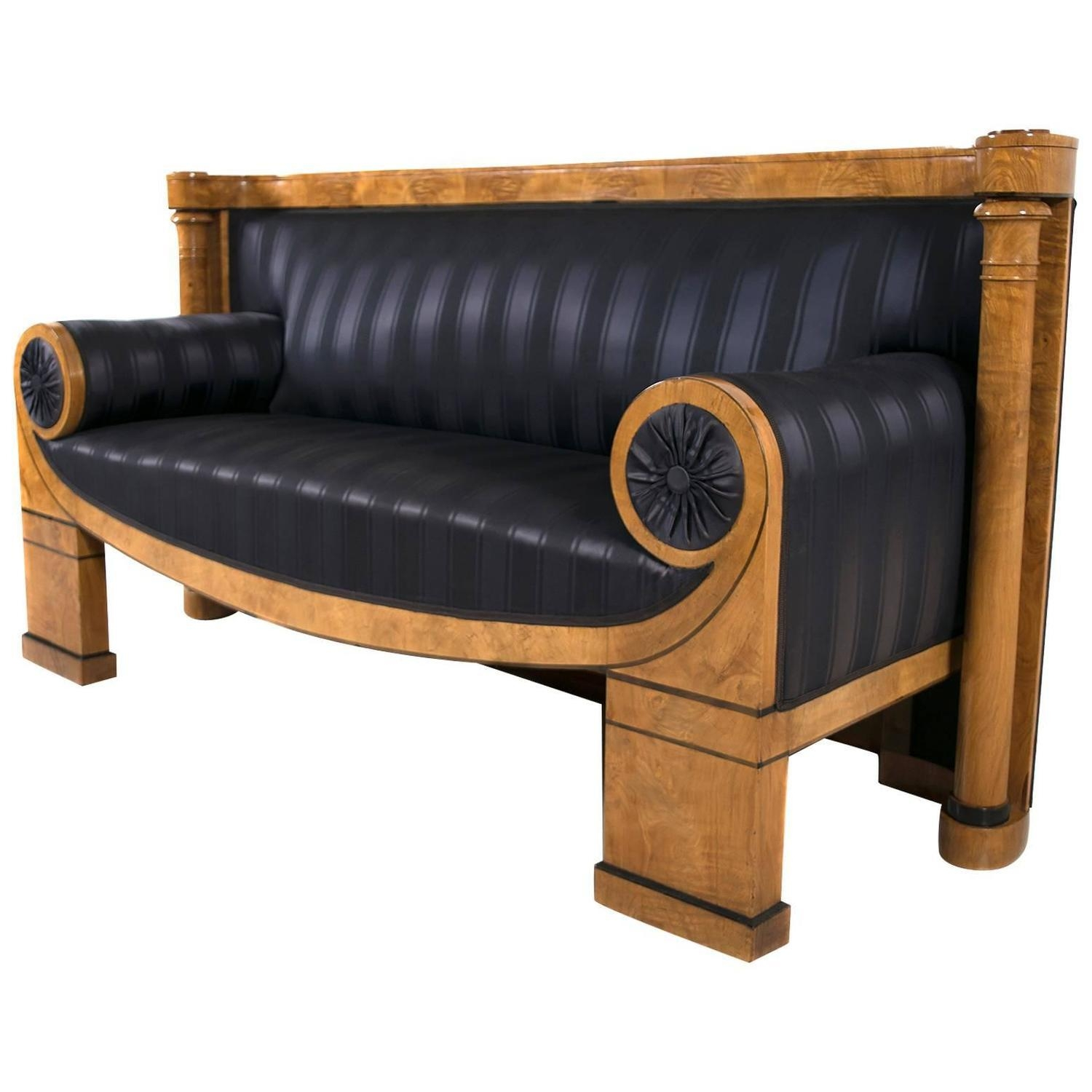 Biedermeier Sofas – 54 For Sale At 1Stdibs Within Biedermeier Sofas (Image 14 of 20)