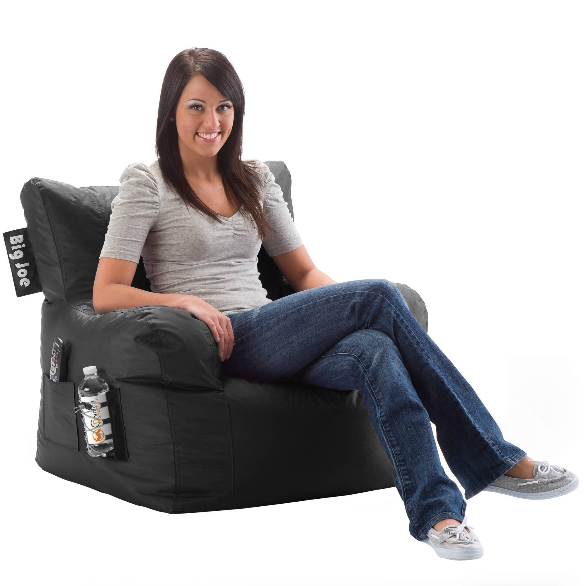 Big Joe Bean Bag Chair, Multiple Colors – Walmart Intended For Big Joe Sofas (Image 2 of 20)