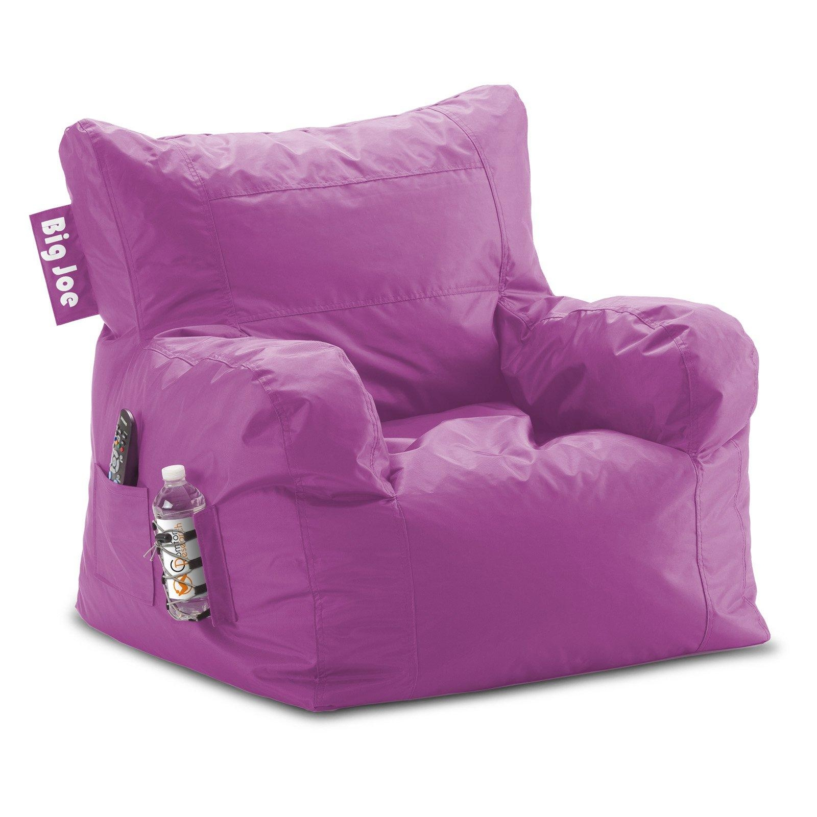 Big Joe Dorm Bean Bag Chair | Hayneedle In Bean Bag Sofas And Chairs (Image 4 of 20)