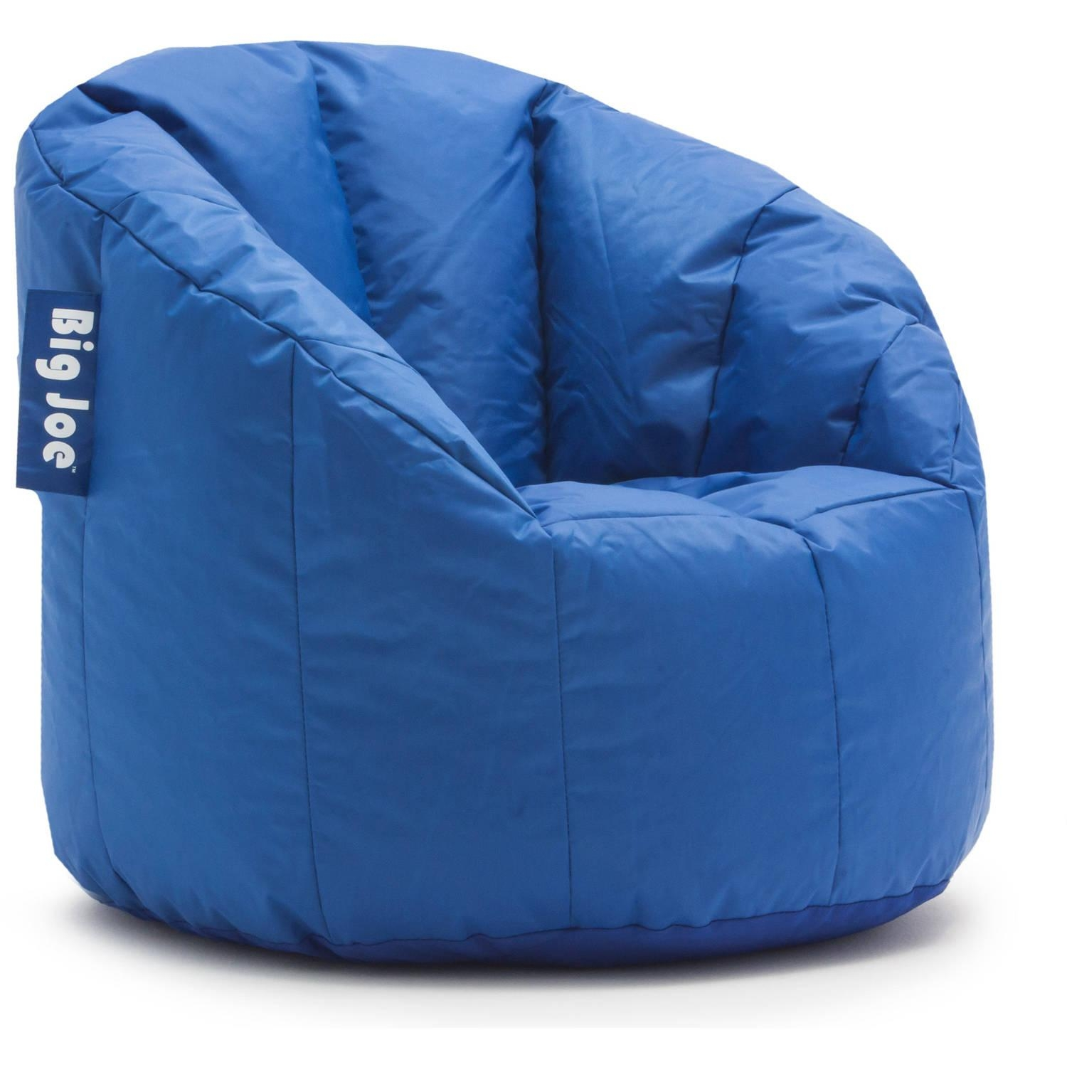 Big Joe Milano Bean Bag Chair, Multiple Colors – Walmart Within Bean Bag Sofa Chairs (View 12 of 20)