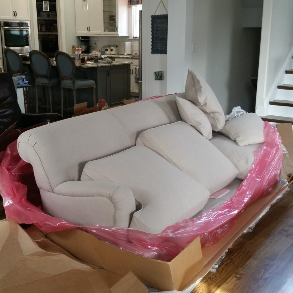 Birch Lane Durham Sofas: They Arrived! – Cleverly Inspired Pertaining To Lane Furniture Sofas (Image 2 of 20)