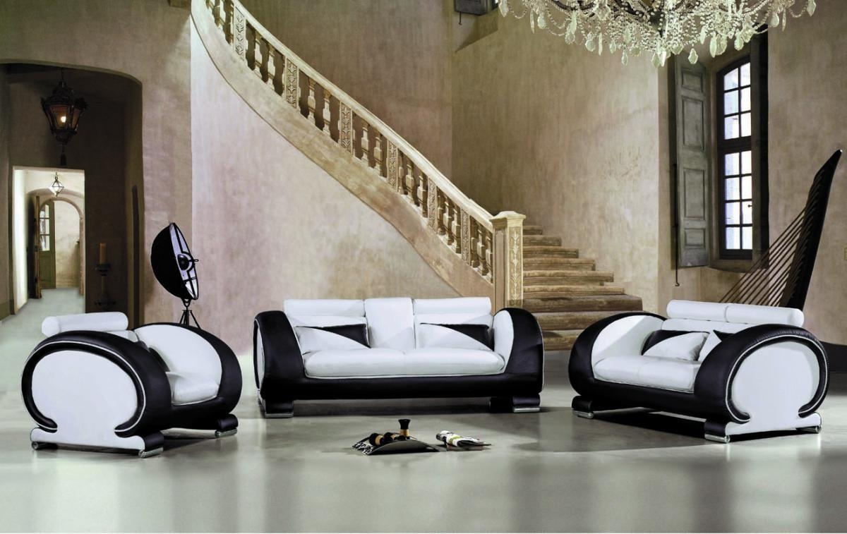 Black And White Sofa Loveseat With Design Ideas 21482 | Kengire Regarding Black And White Sofas And Loveseats (View 17 of 20)
