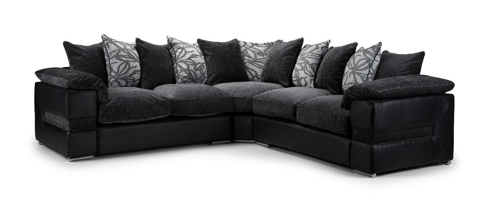 Featured Image of Black Corner Sofas