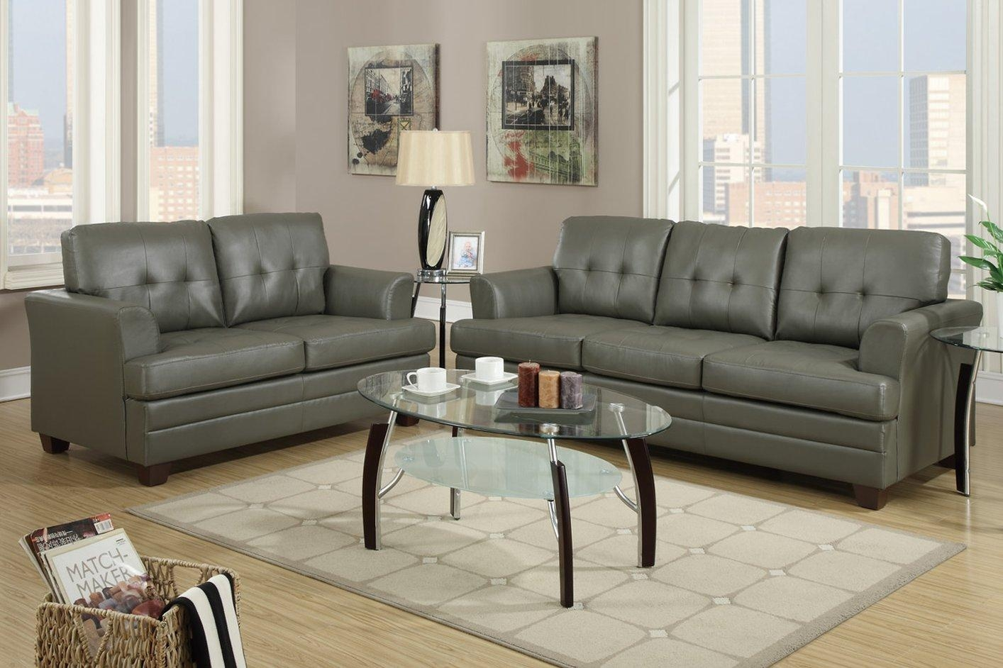 Black Leather Sofa And Loveseat Set | Tehranmix Decoration Throughout Black Leather Sofas And Loveseat Sets (View 15 of 20)