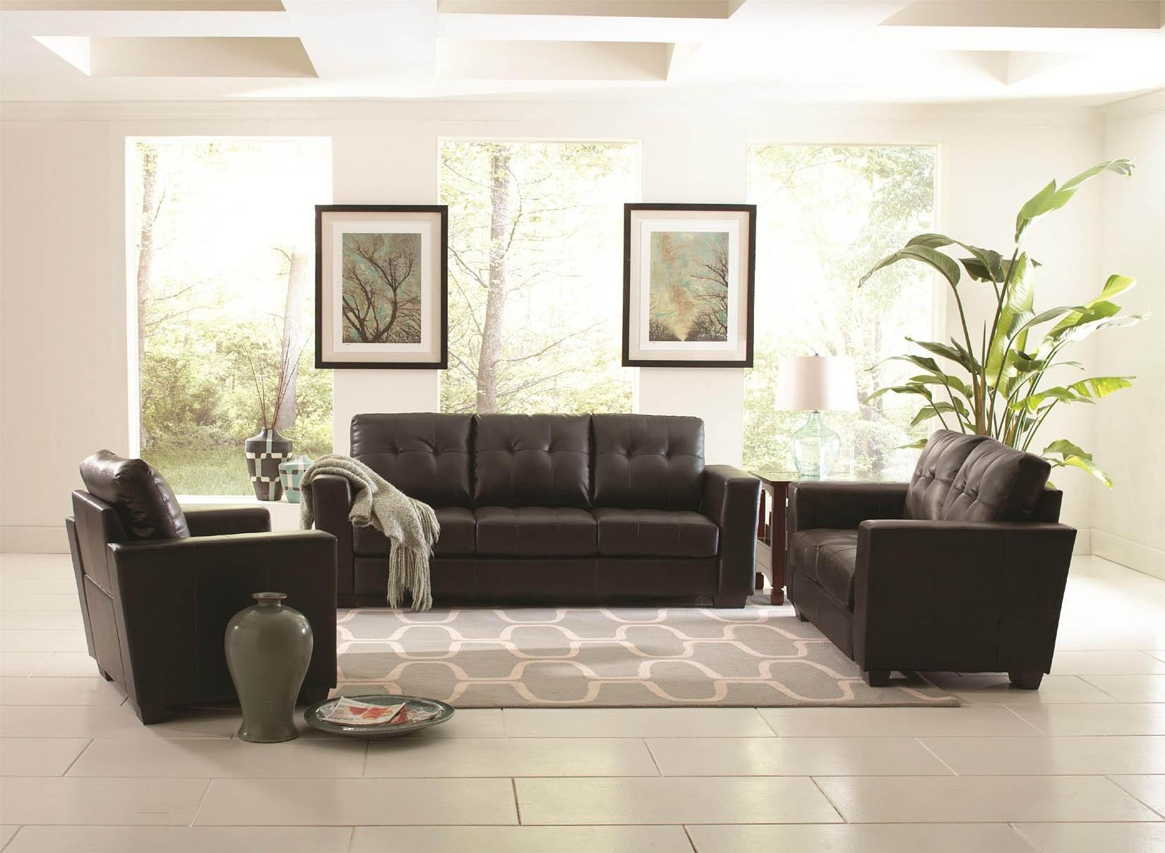 Black Sofa Decor 1000 Ideas About Sectional Sofas On Pinterest Big Intended For Black Sofas Decors (Image 12 of 20)