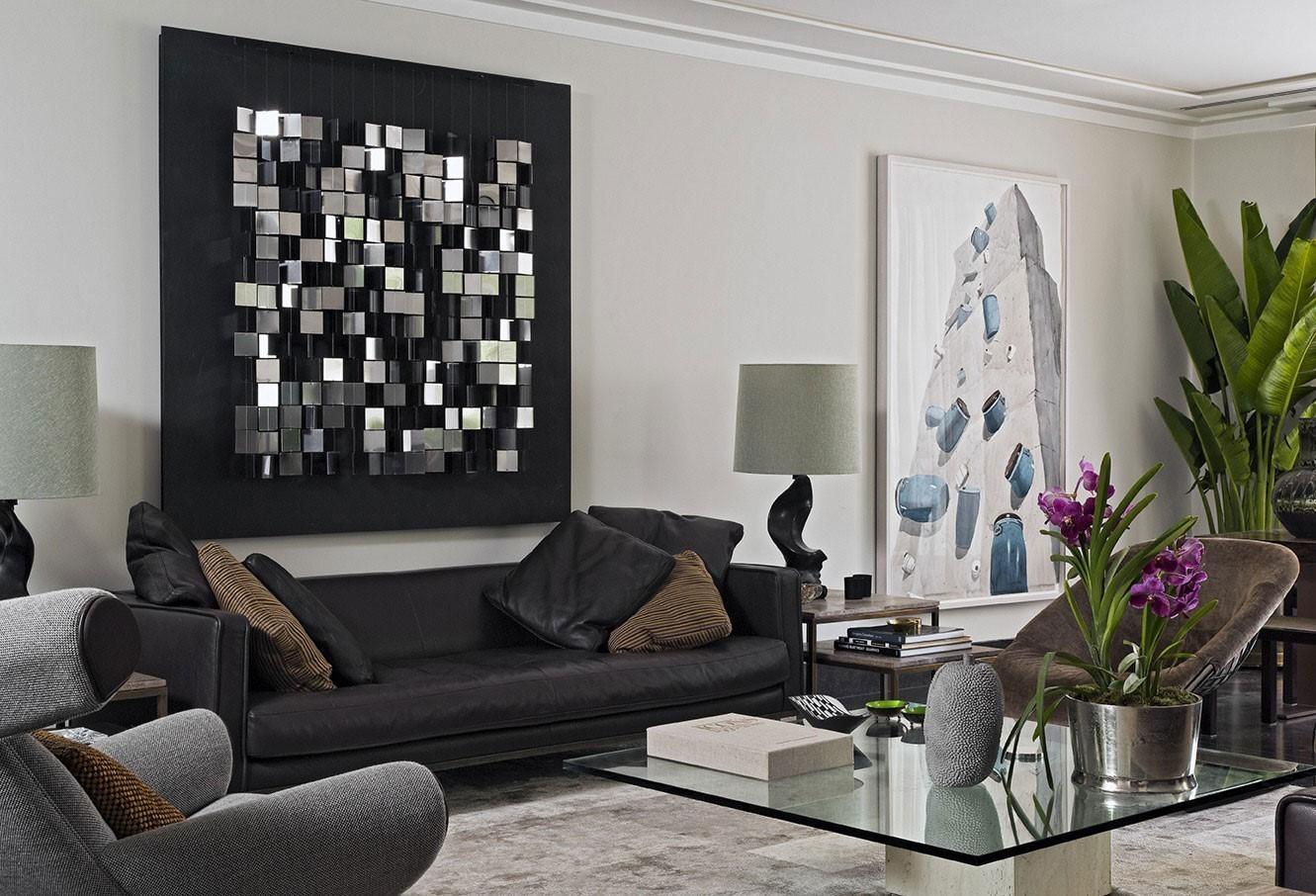 Black Sofa Decor | Sofa Gallery | Kengire For Black Sofas Decors (Image 10 of 20)