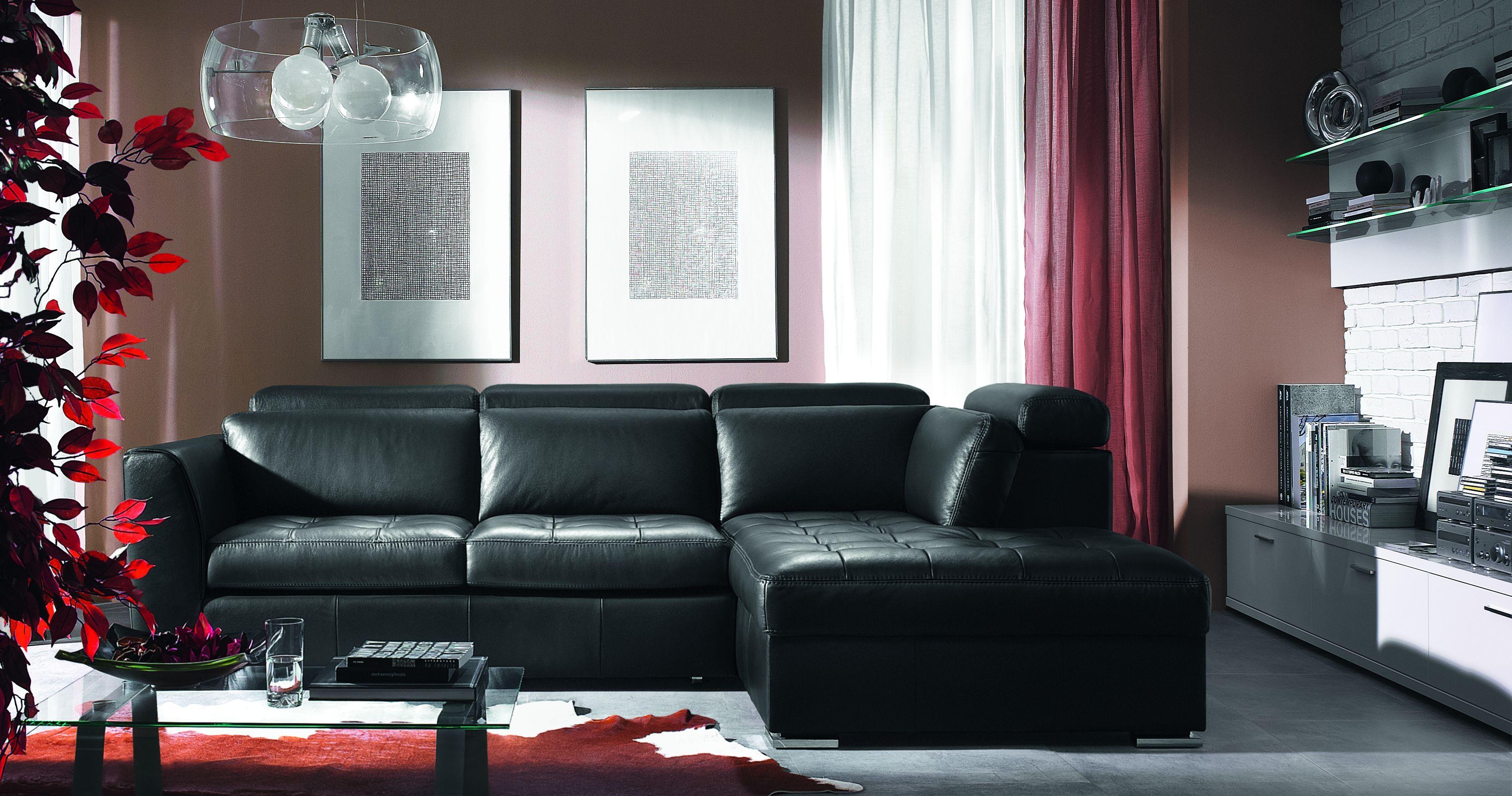 Black Sofa Decor | Sofa Gallery | Kengire With Regard To Black Sofas Decors (View 4 of 20)