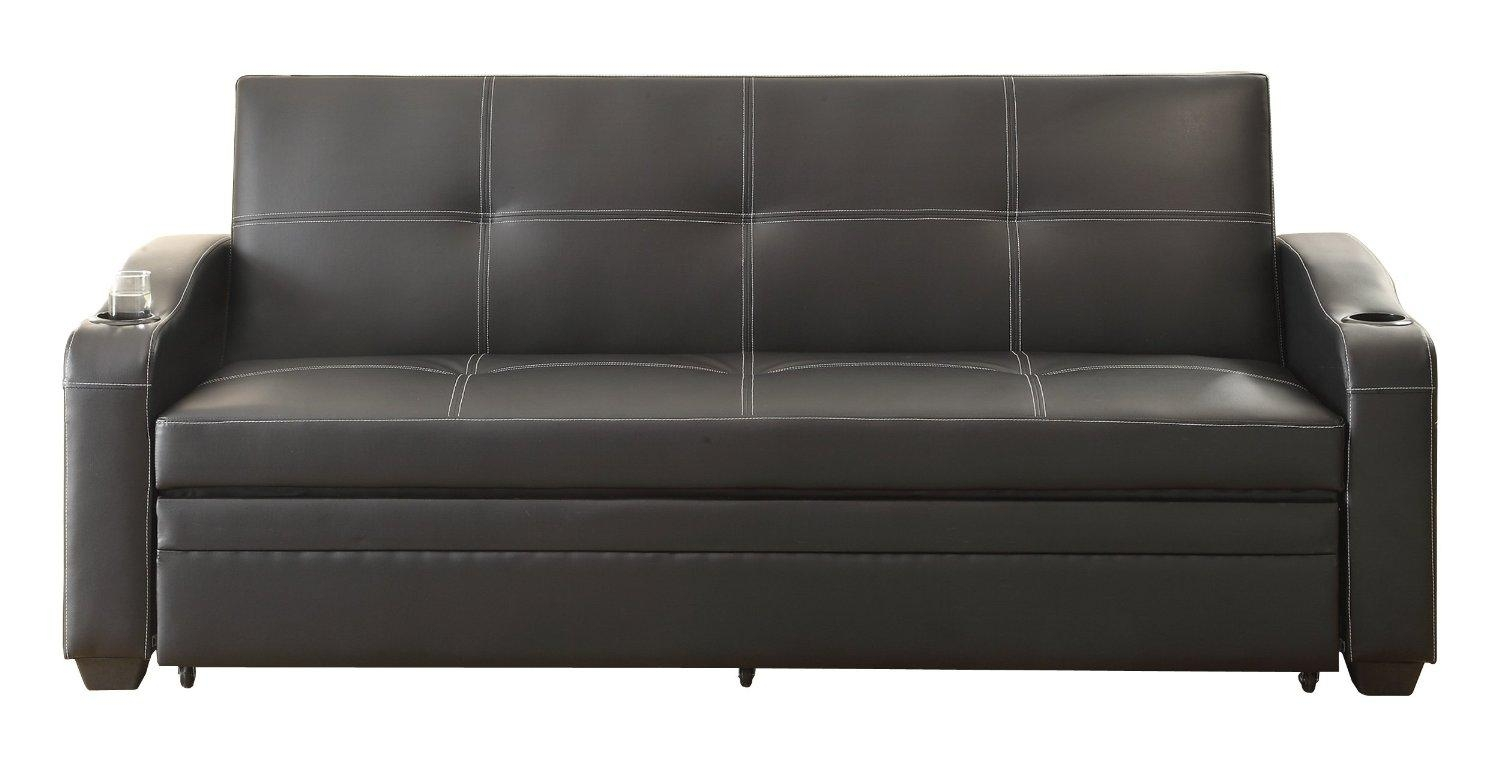 Black Vinyl Sofa 28 With Black Vinyl Sofa | Jinanhongyu Within Black Vinyl Sofas (Image 7 of 20)