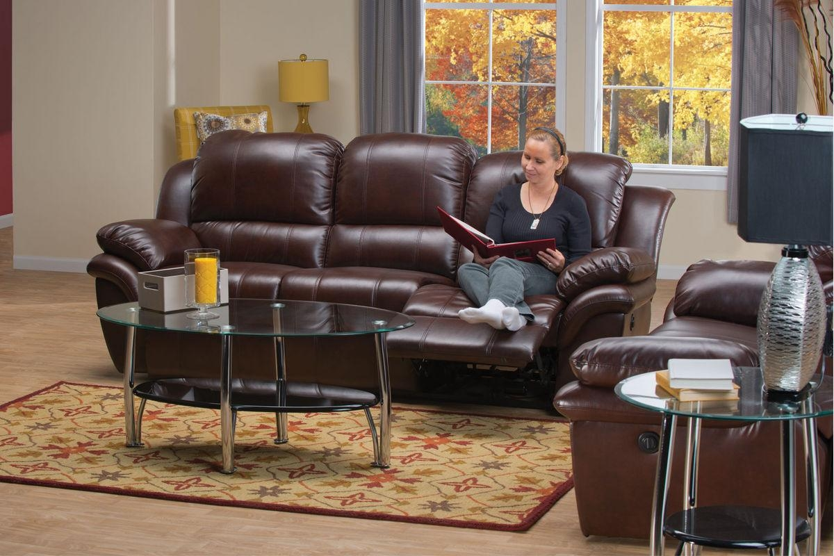 Blair Leather Power Reclining Sofa For Blair Leather Sofas (Image 3 of 20)