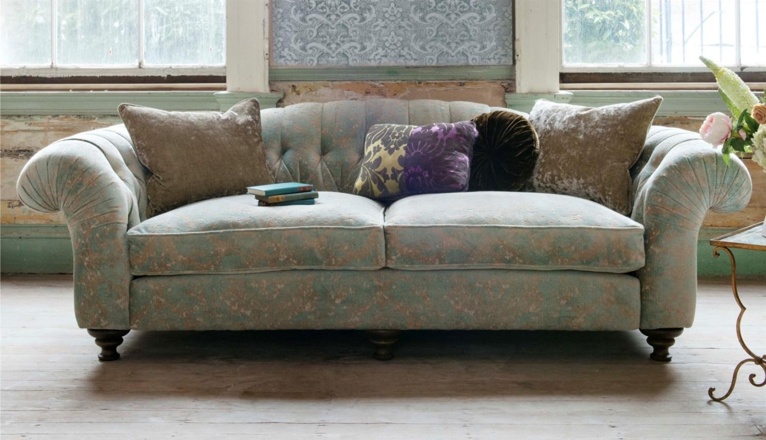 Bloomsbury Throughout Fabric Sofas (Image 3 of 20)