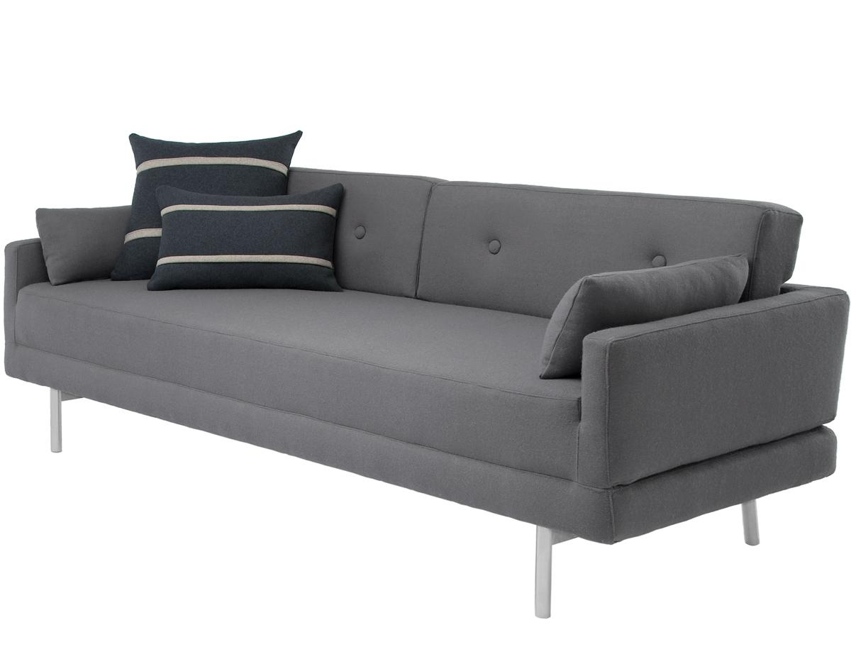 Blu Dot One Night Stand Sleeper Sofa – Ansugallery Throughout Blu Dot Sleeper Sofas (Image 1 of 20)