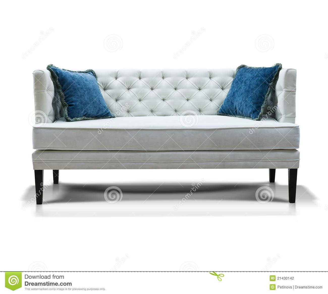 Featured Image of Blue And White Sofas