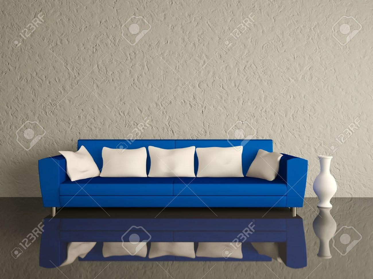 Blue And White Sofa With Ideas Hd Photos 18922 | Kengire Pertaining To Blue And White Sofas (Image 8 of 20)