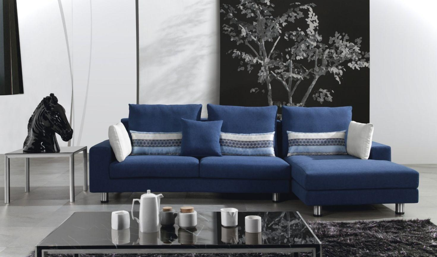 Blue And White Sofa With Ideas Hd Photos 18922 | Kengire Regarding Blue And White Sofas (Image 9 of 20)