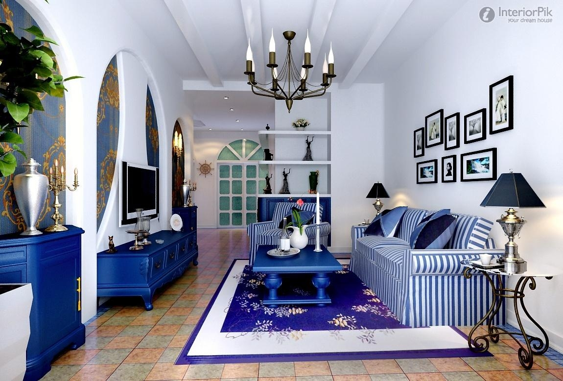 Blue And White Striped Sofa With Ideas Inspiration 18939 | Kengire In Blue And White Striped Sofas (View 7 of 20)