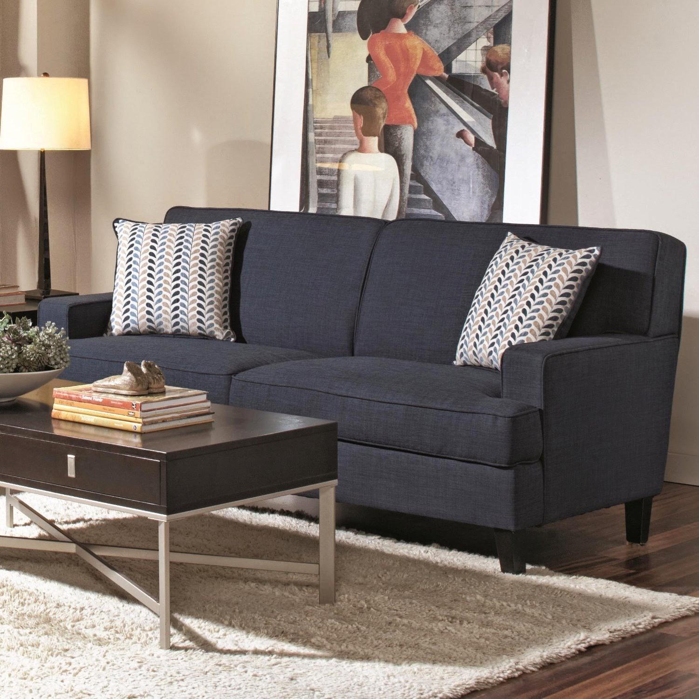 Blue Couch: Dark Blue Couch Regarding Dark Blue Sofas (Image 6 of 20)