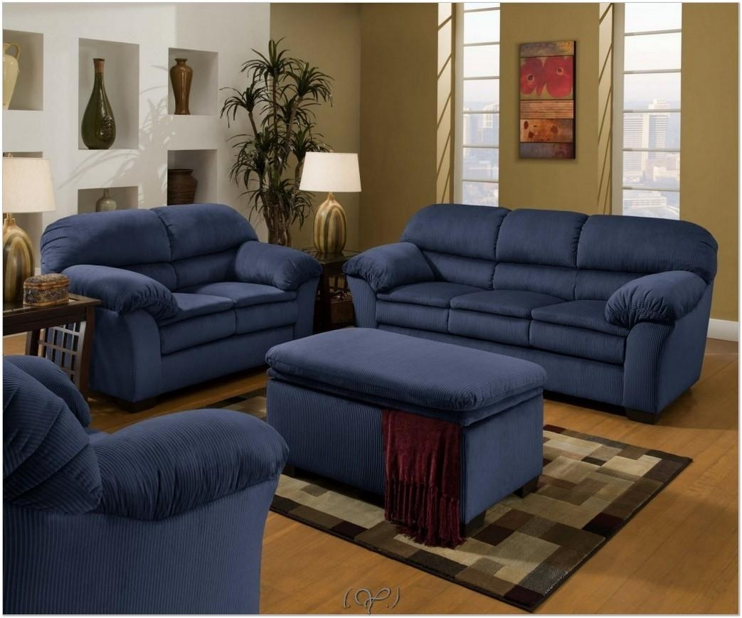 Blue Sectional Sofa (View 15 of 20)