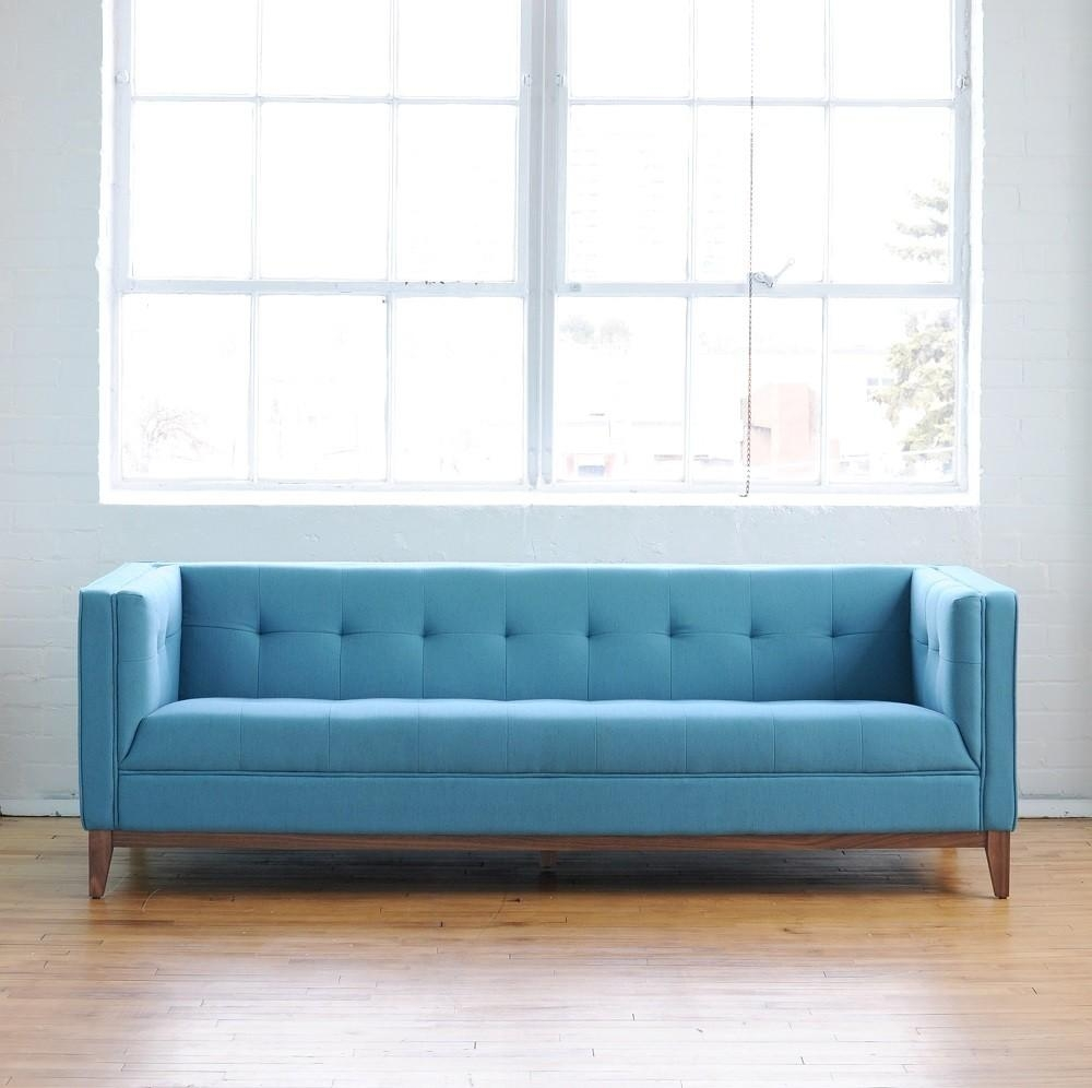 Blue Sectional Sofa (Image 11 of 20)