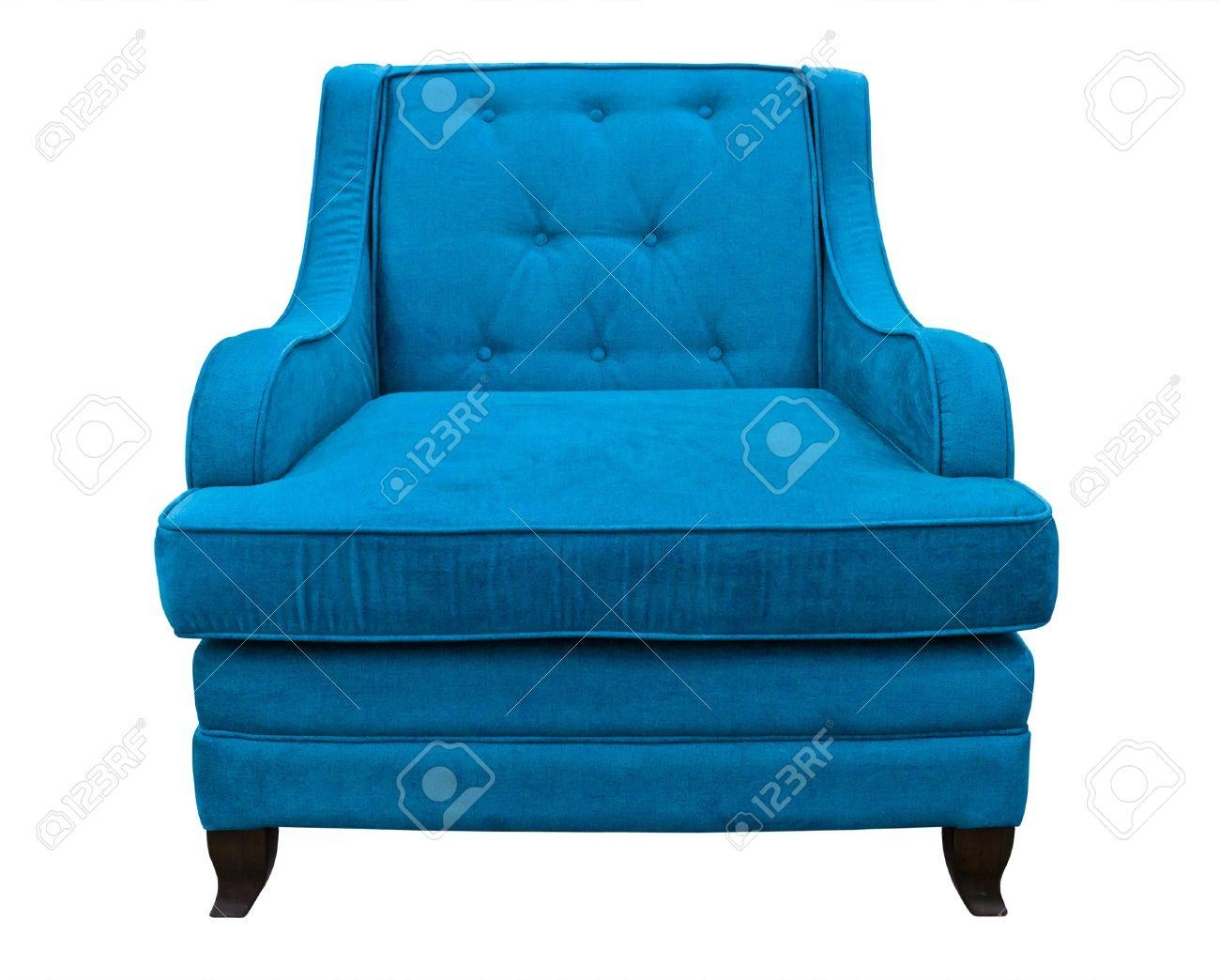 Blue Sofa Chair With Ideas Photo 26193 | Kengire Regarding Blue Sofa Chairs (Image 8 of 20)