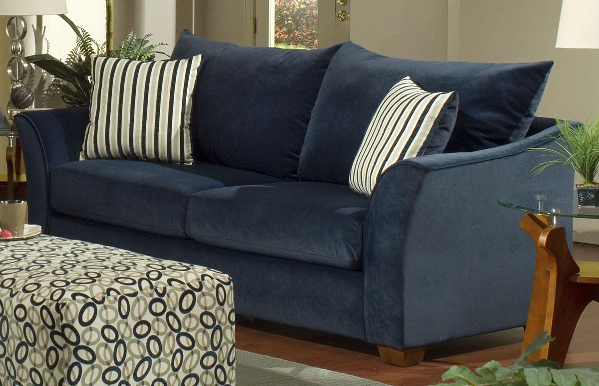 Blue Sofas – Helpformycredit In Blue Sofas (Image 11 of 20)
