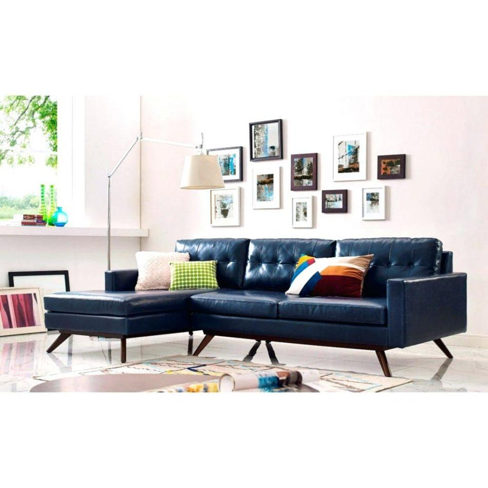 Blue Tufted Sectional – Vupt Inside Retro Sectional Couch (View 15 of 20)
