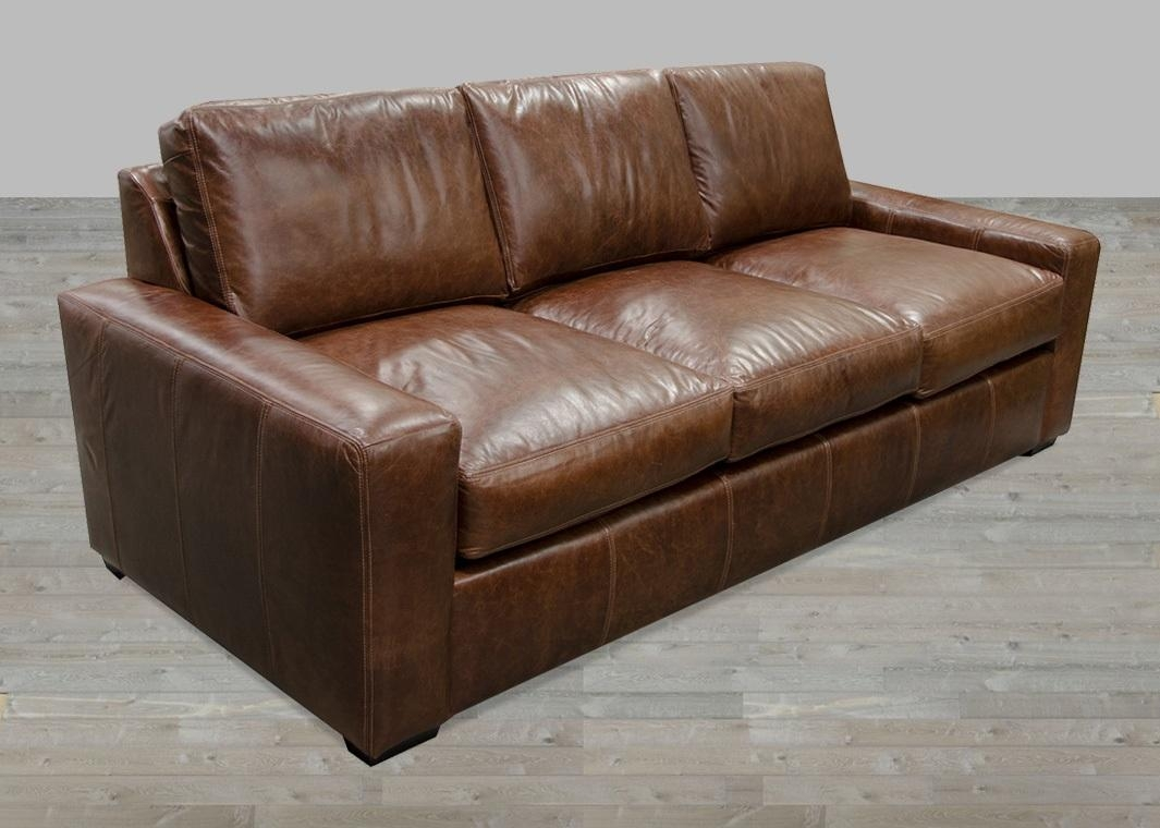 Bomber Jacket Leather Sofa | Sofa Gallery | Kengire With Regard To Bomber Jacket Leather Sofas (Image 4 of 20)