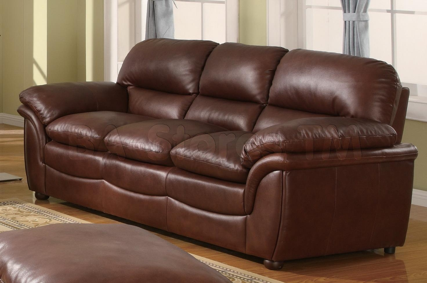 Bonded Leather Sofa – Helpformycredit With Bonded Leather Sofas (Image 6 of 20)