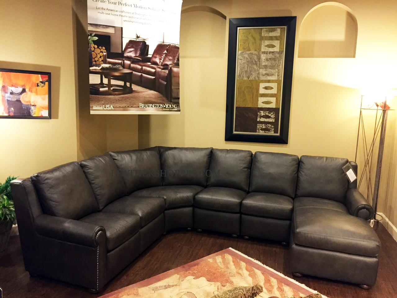 Bradington Young Luxury Motion Furniture Made In The Usa For Motion Sectional Sofas (Image 3 of 20)