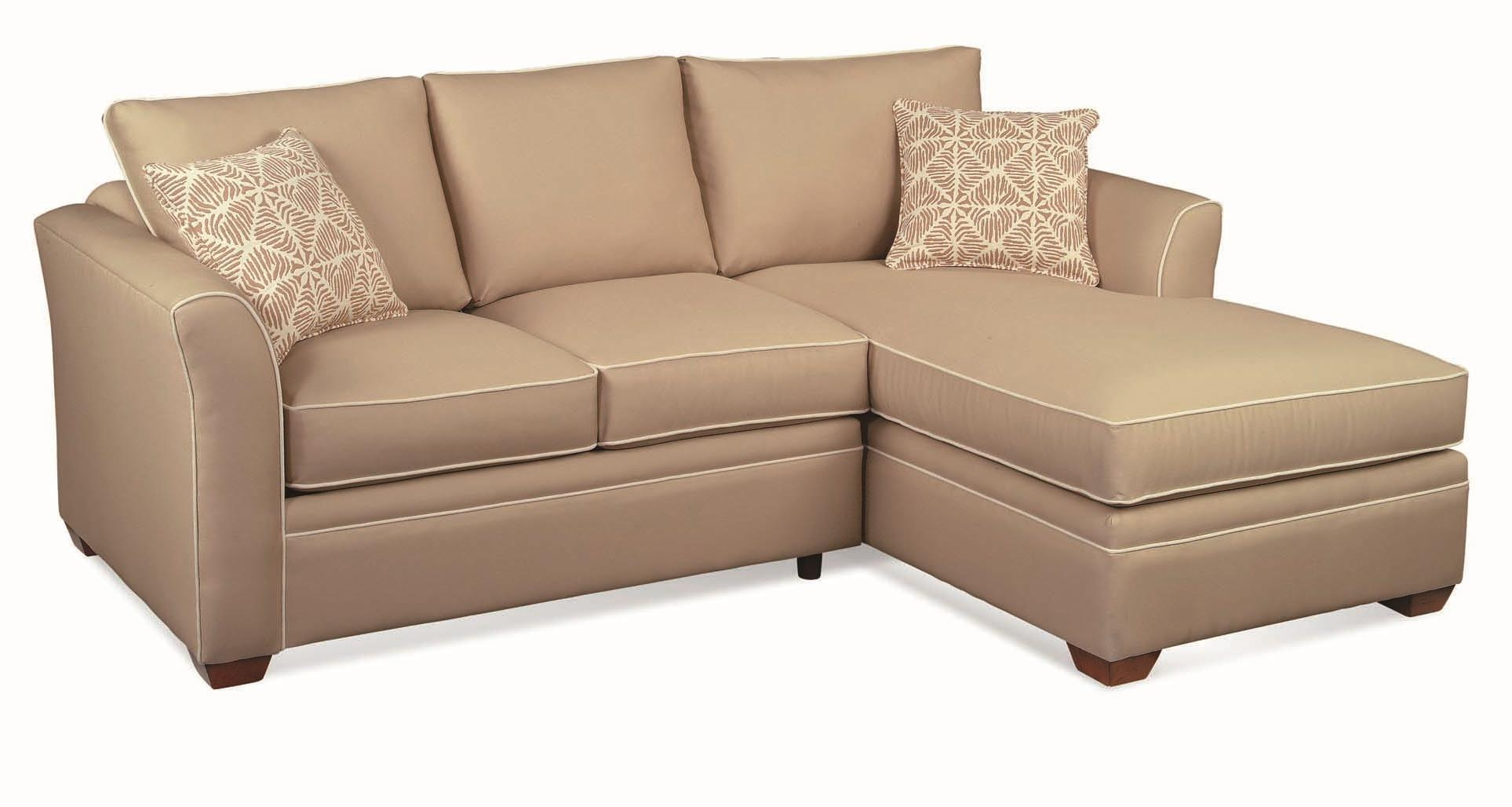 Braxton Culler Bridgeport Casual 2 Piece Sectional Sofa With Regarding Bridgeport Sofas (Image 1 of 20)