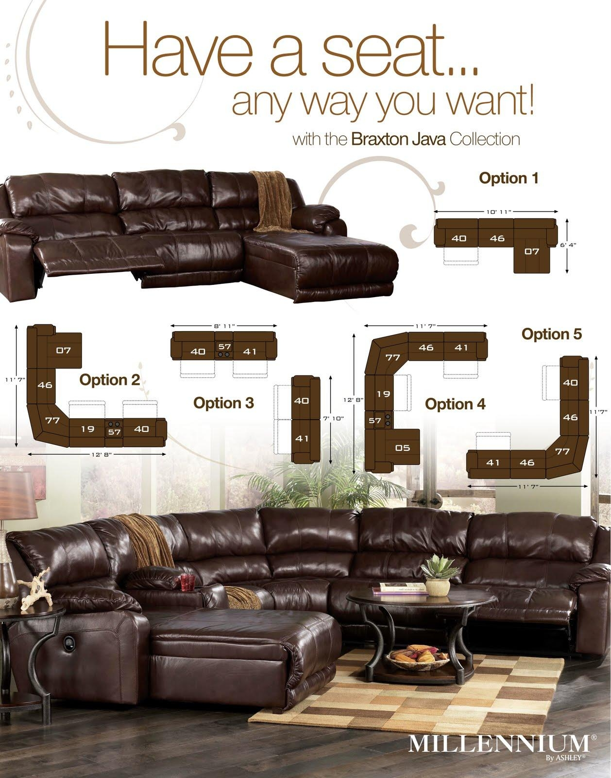 Featured Image of Braxton Sectional Sofas