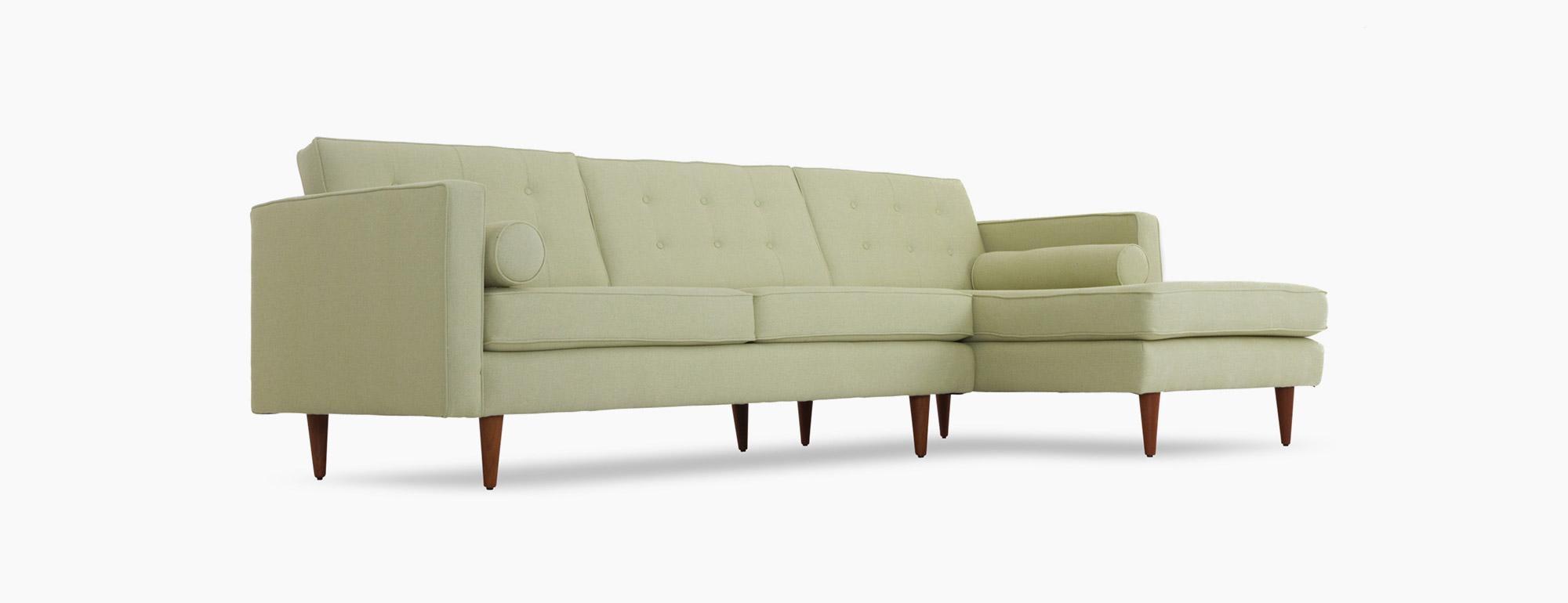 Braxton Sectional | Joybird Regarding Braxton Sectional Sofas (Image 5 of 20)