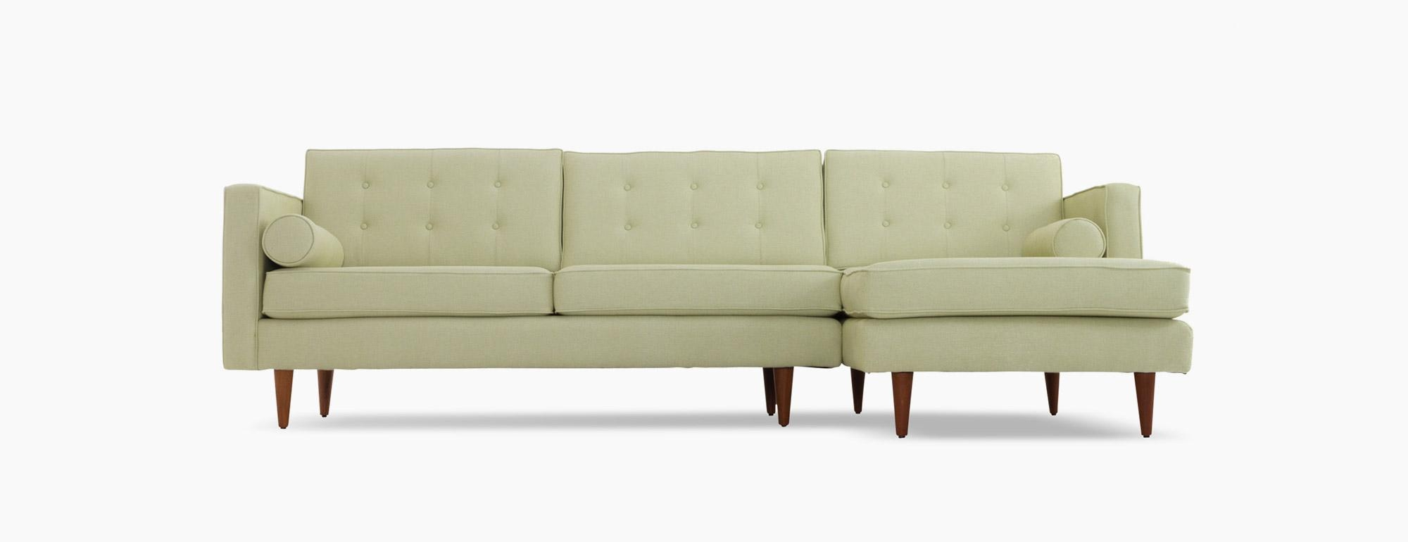 Braxton Sectional | Joybird Throughout Braxton Sectional Sofa (Image 6 of 15)