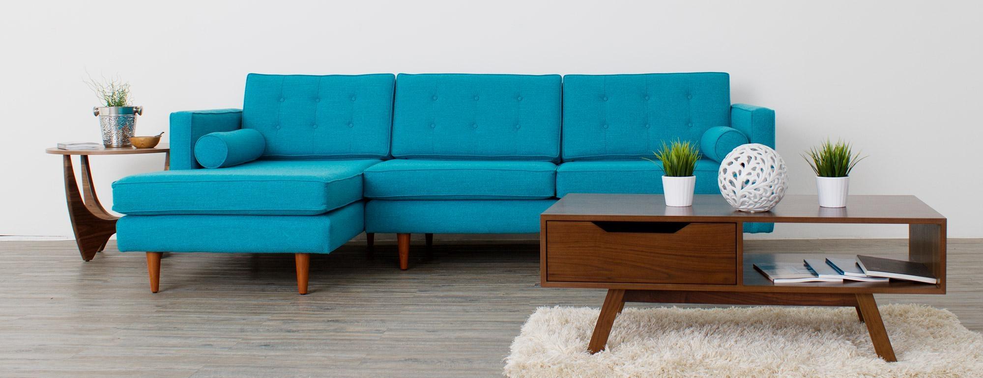 Braxton Sectional | Joybird With Regard To Braxton Sectional Sofa (View 2 of 15)