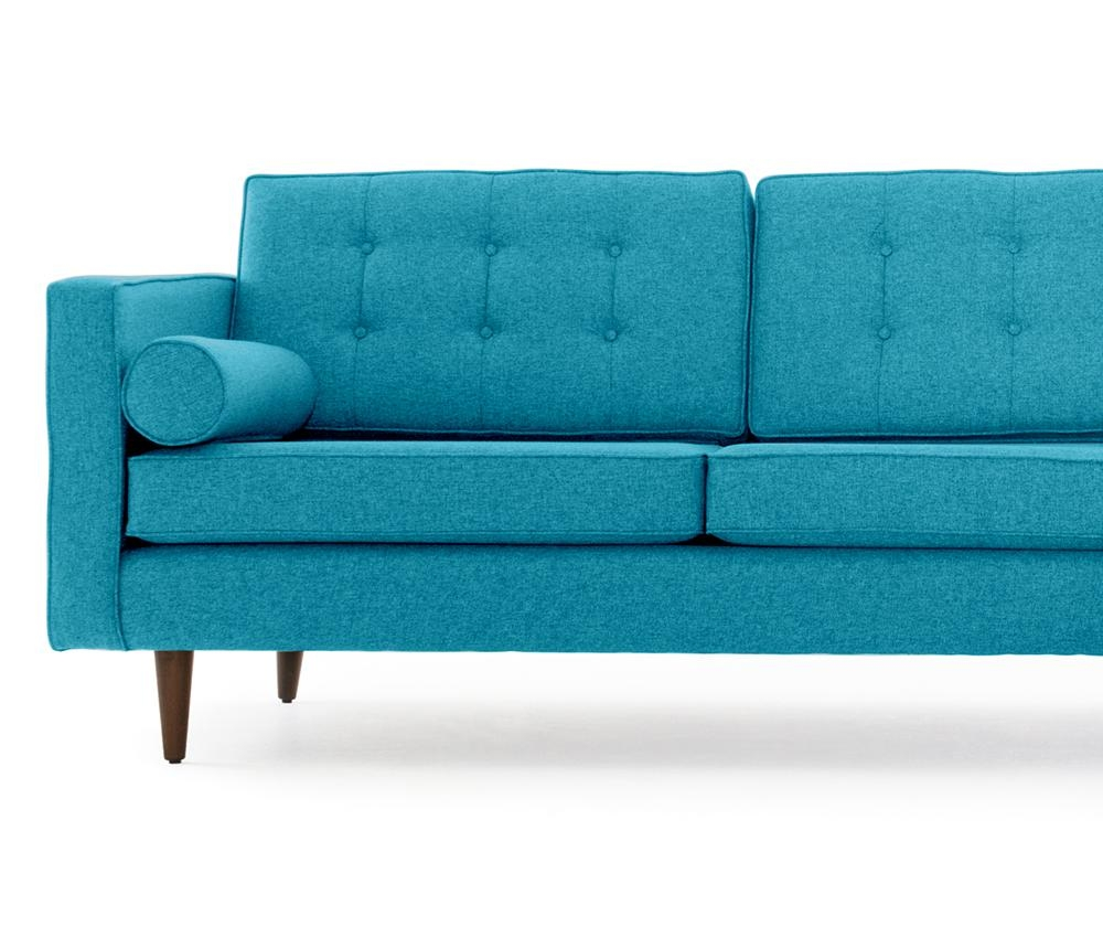 Braxton Sectional With Bumper | Joybird With Braxton Sofa (Image 9 of 20)