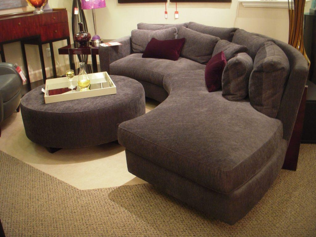 Breathtaking Cool Sectional Sofas Pictures Inspiration – Tikspor Pertaining To Round Sectional Sofa Bed (Image 2 of 20)