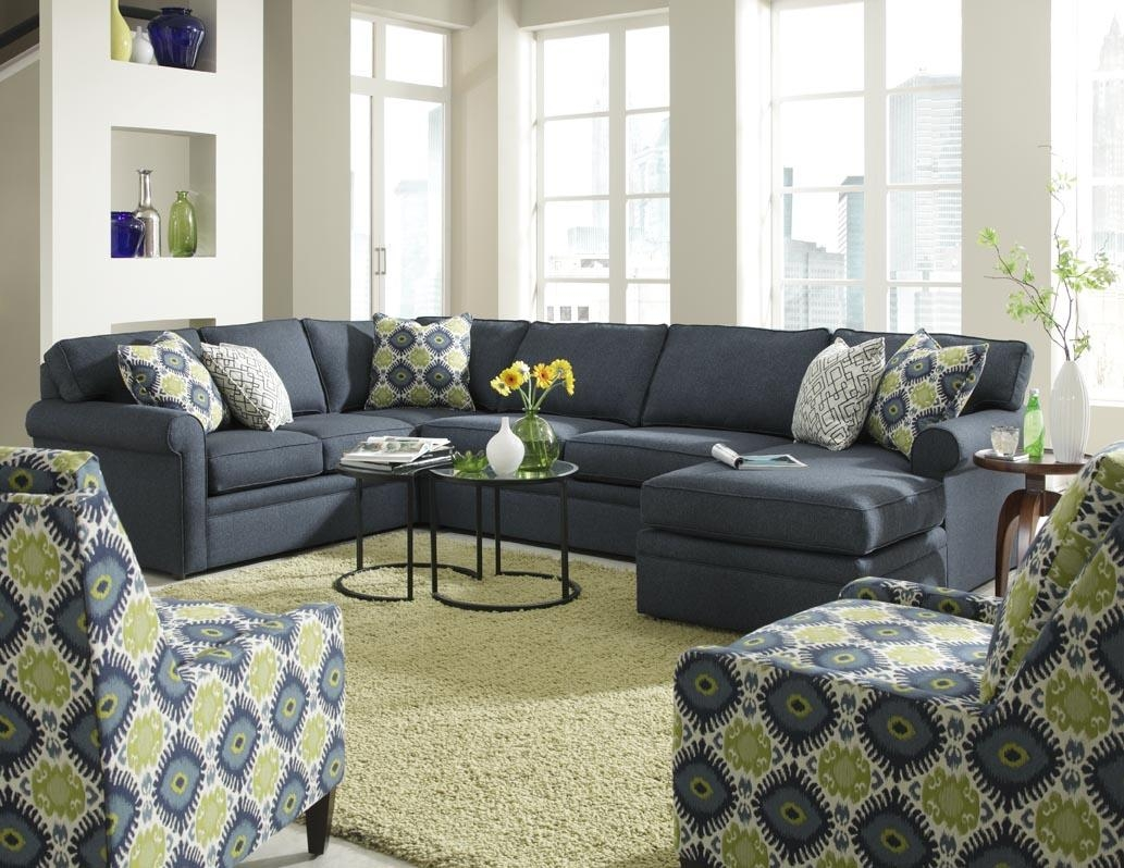 Brentwood Sectionalrowe Furniture Within Rowe Sectional Sofas (Image 2 of 20)
