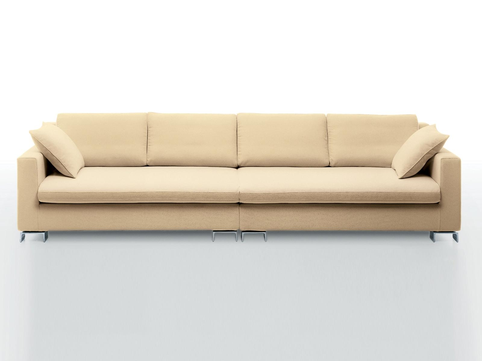 Bridge | 4 Seater Sofai 4 Mariani Design Luca Scacchetti Regarding Four Seater Sofas (View 8 of 20)