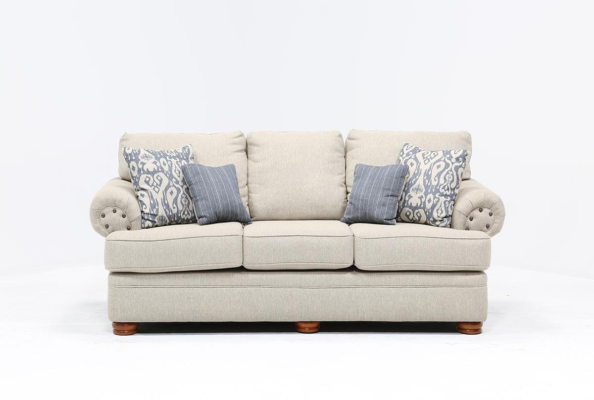 Bridgeport Sofa – Living Spaces Intended For Bridgeport Sofas (Image 3 of 20)