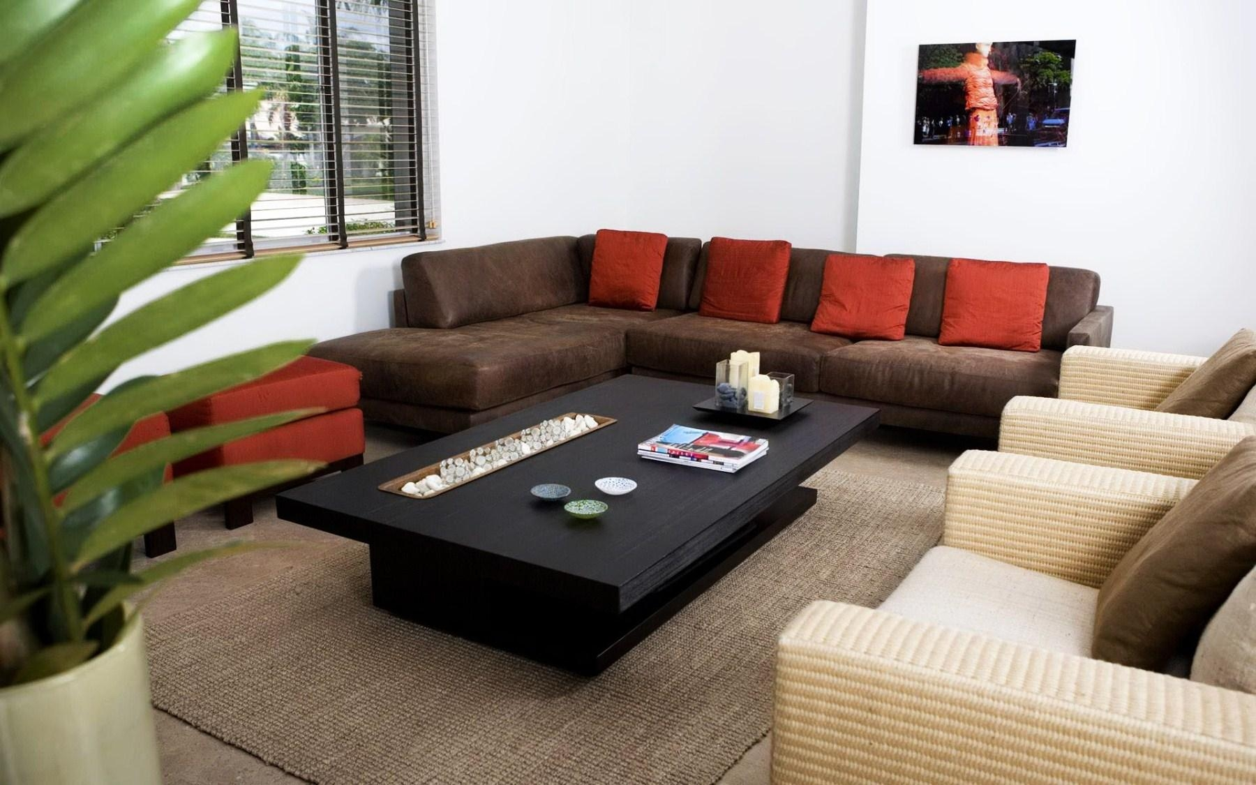 Brilliant Modern Brown Couches Uptown Sofaand Decor With Regard To Brown Sofas Decorating (Image 6 of 20)