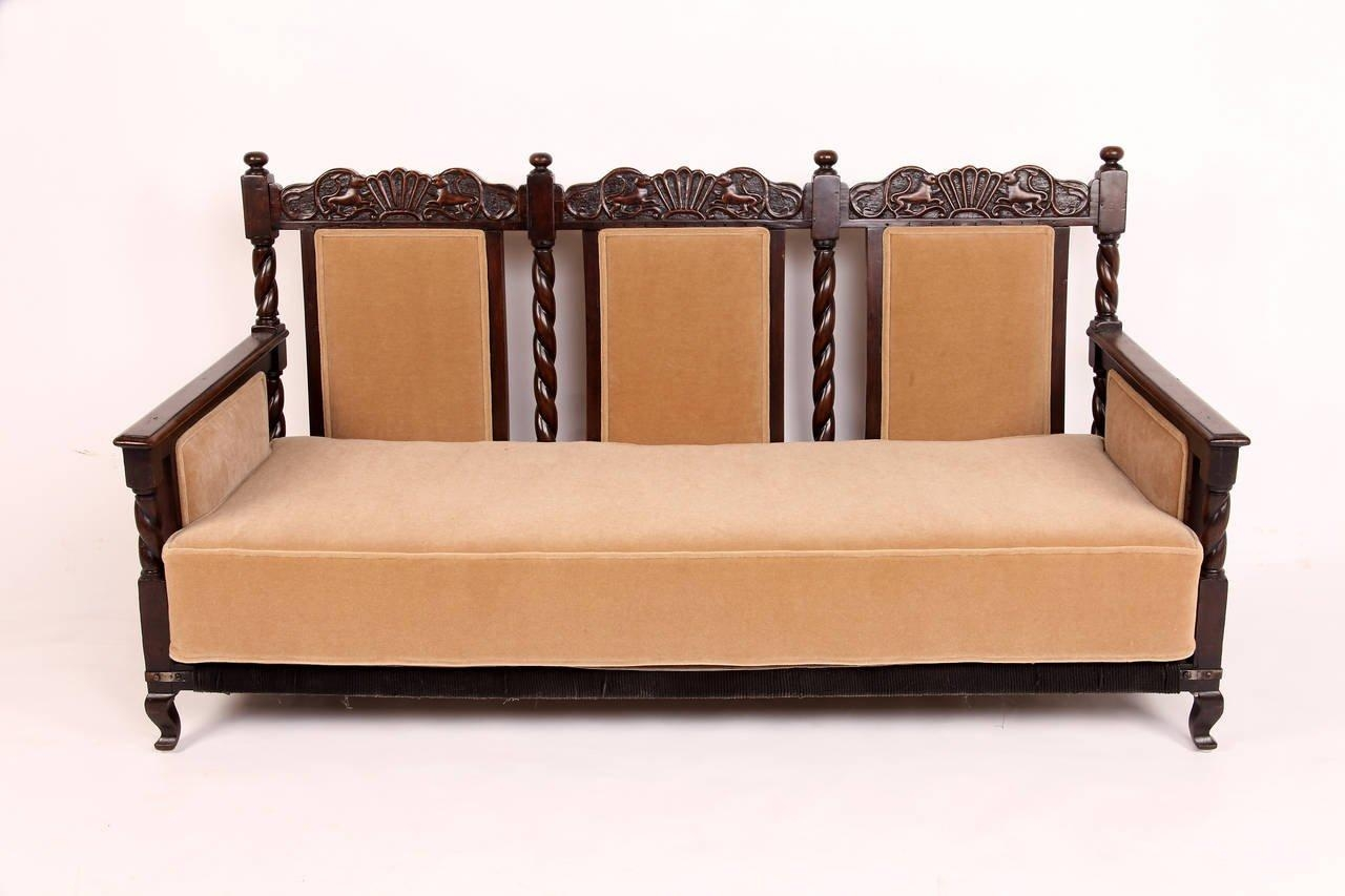 British Colonial Sofa With Design Photo 36568 | Kengire With Regard To Colonial Sofas (Image 2 of 20)