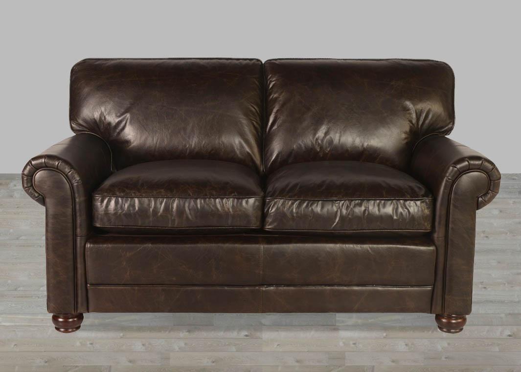 Brompton Leather Sofa Genesis Brompton Chocolate Leather Sofa From Pertaining To Brompton Leather Sofas (View 17 of 20)