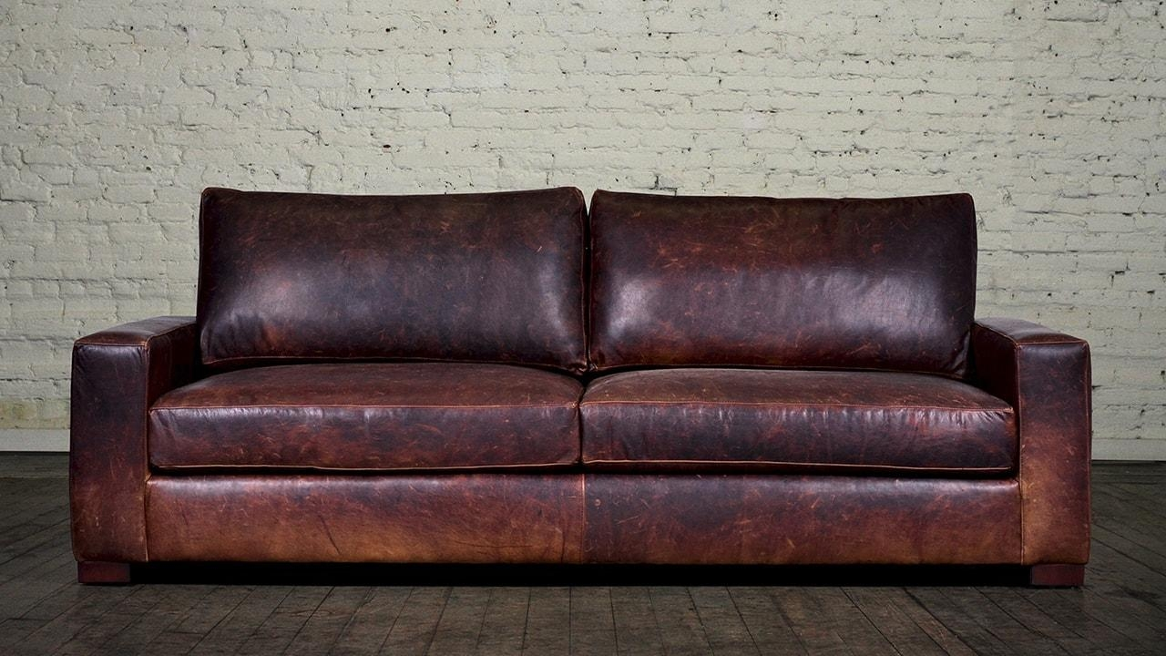 Brompton Leather Sofa | Sofa Gallery | Kengire Regarding Brompton Leather Sofas (View 4 of 20)