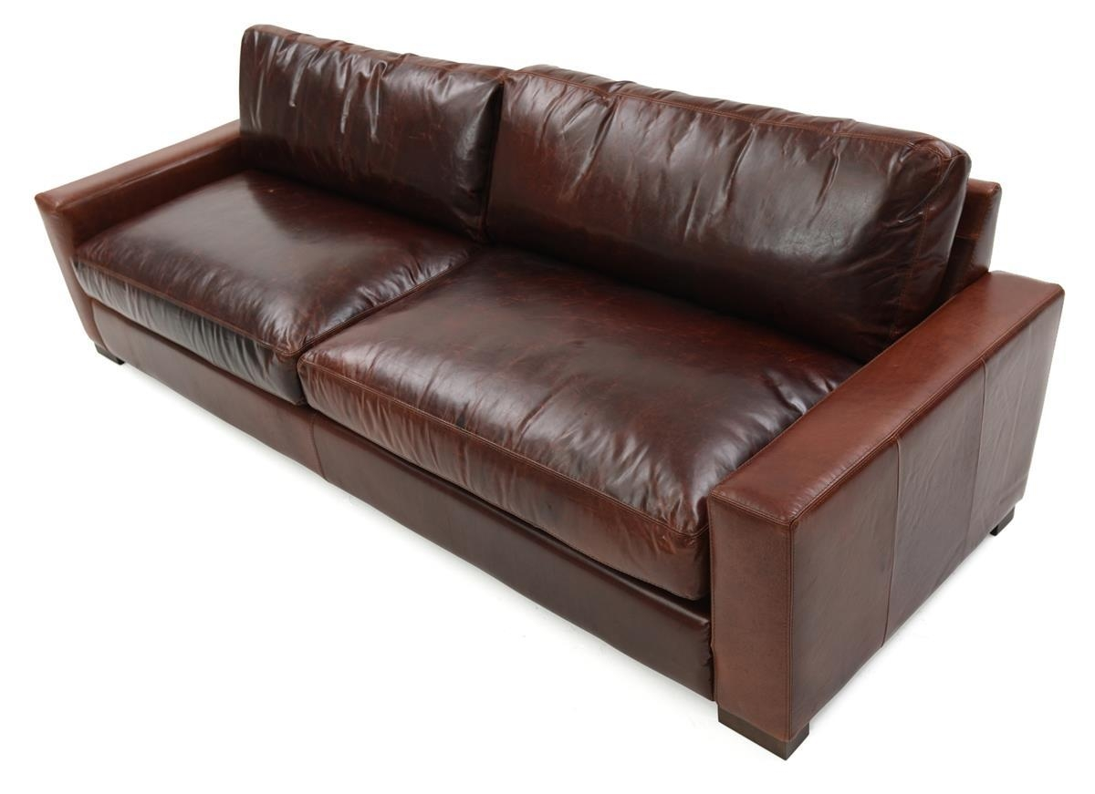 Brompton Leather Sofa | Weir's Furniture Inside Brompton Leather Sofas (Image 3 of 20)